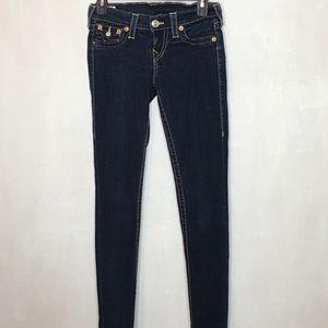 True Religion Misty Skinny Jeans Size 26